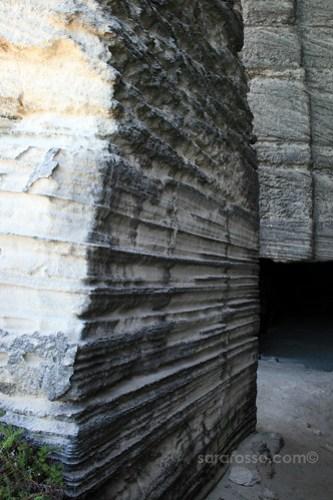 The rocks at Cala Rossa, Favignana Island, Sicily, Italy