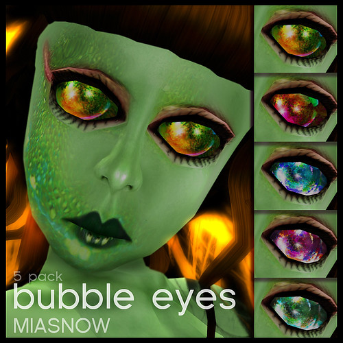 BUBBLE Eyes Display Poster