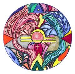 Mandala - Tierkreiszeichen Waage - Signs of th...