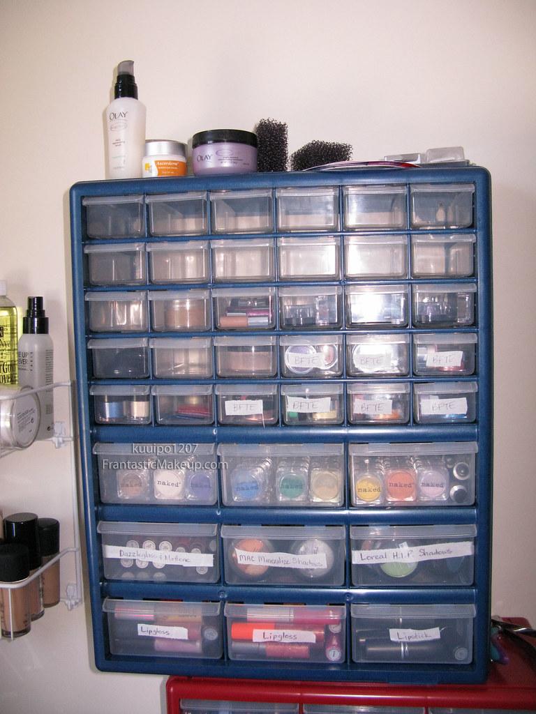 Makeup Storage  Frantastic Makeup