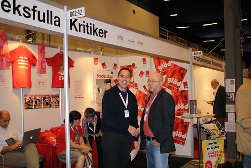 Christer Engelhardt och Thomas Strand, broderskapare och representanter från Gotland resp Jönköping