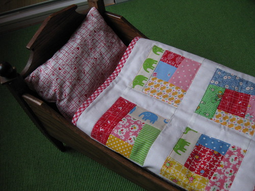 Doll Quilt in Aktion