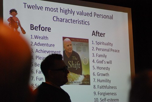 Highly valued characters