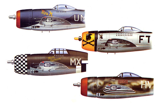 WW2 ... P-47 Republic 'Thunderbolt' (US) by x-ray delta one