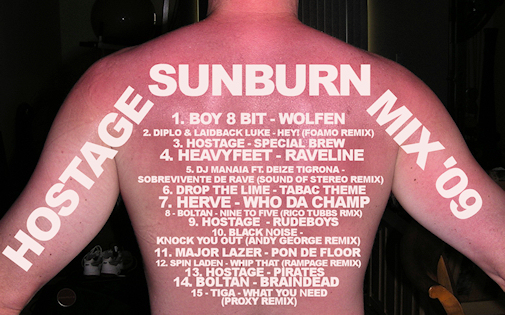 hostage-sunburn mix