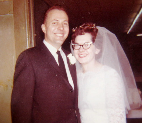 My parents wedding day in 1962.