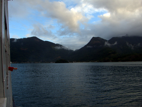 On the way to Ilha Grande