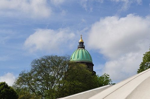 Over the tent tops, Charlotte Square