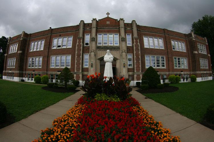 Saint Francis HS Entrance