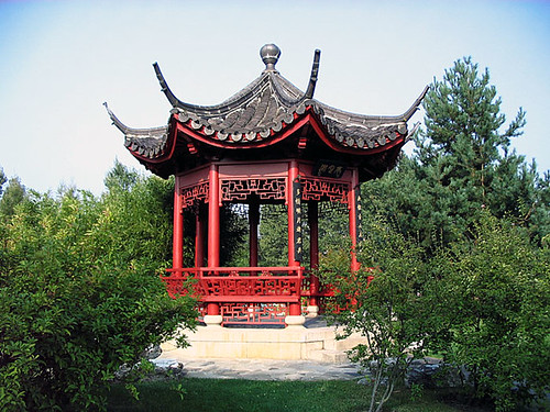 Chinese garden in Berlin-Marzahn. Photo: Ulla Hennig