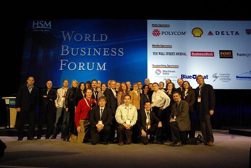 World Business Forum Bloggers