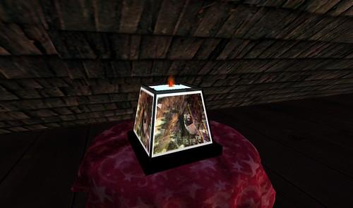 Light Fragmented Tea Lamp