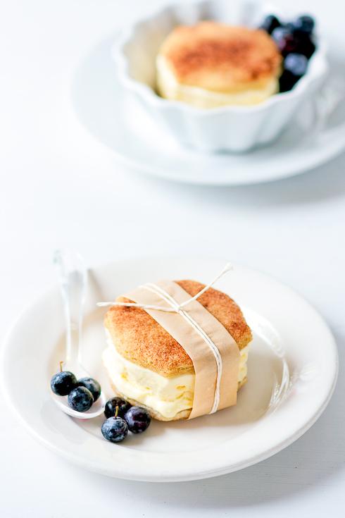 Snickerdoodle Lemon Ice Cream Sandwiches