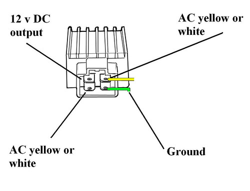 4 pin rectifier wiring diagram