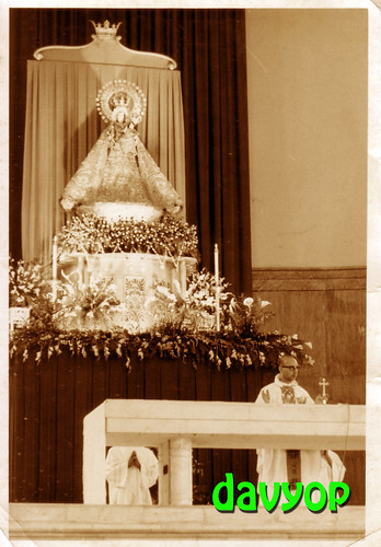 Our Lady of La naval in her Baldochino by davyop.