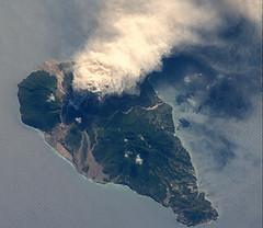 Soufriere Hills Volcano, Montserrat Island (NA...