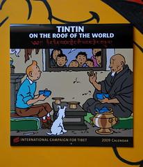 Tintin in Tibet calendar ICT su BAB - photo Goria