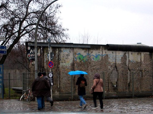 Largest section of the Berlin Wall still standing in its original location.