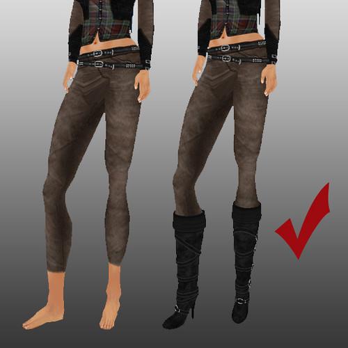 step 4 modify pants