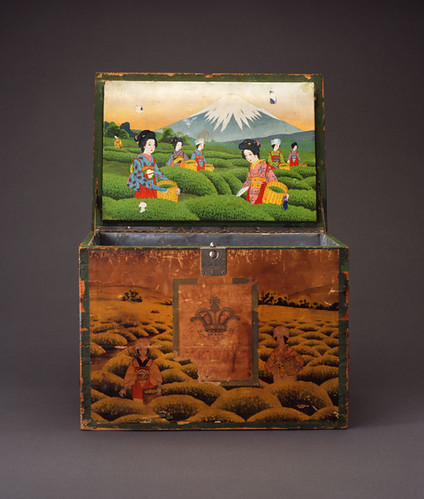 Tea Chest Japan, early 20th century