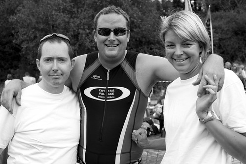 My lovely team mates - Emma and James