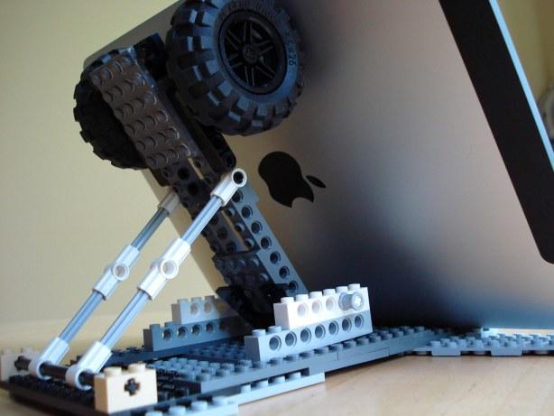 iPad Lego stand