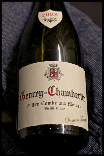 Gevrey Chambertin 1er Cru Combes aux Moines Domaine Fourrier 2008