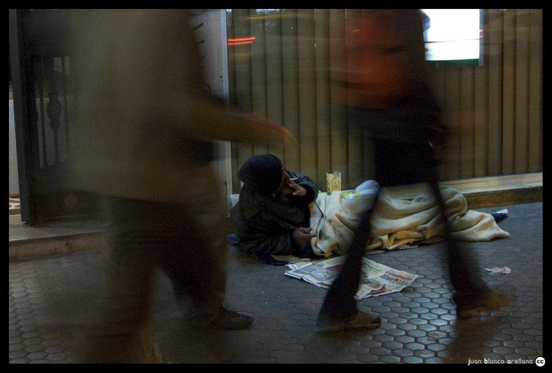 Pobreza en anonimato