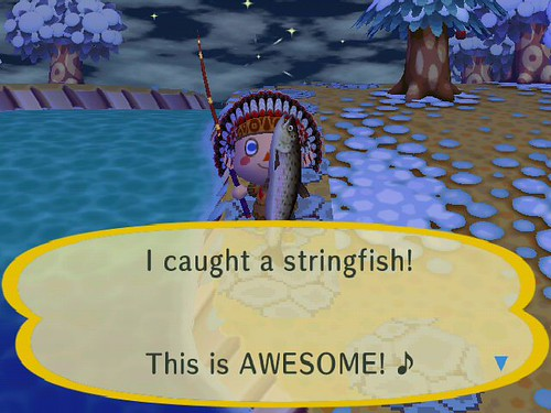 Yay for Stringfish!