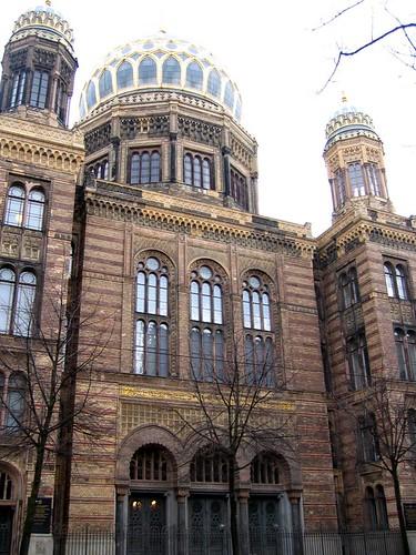 Neue Synagoge.