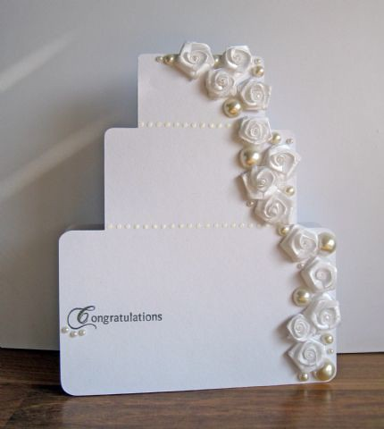 Finalist 14: Vanessa Menhorns Wedding Cake Card