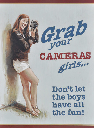 Grab your cameras, girls by you.