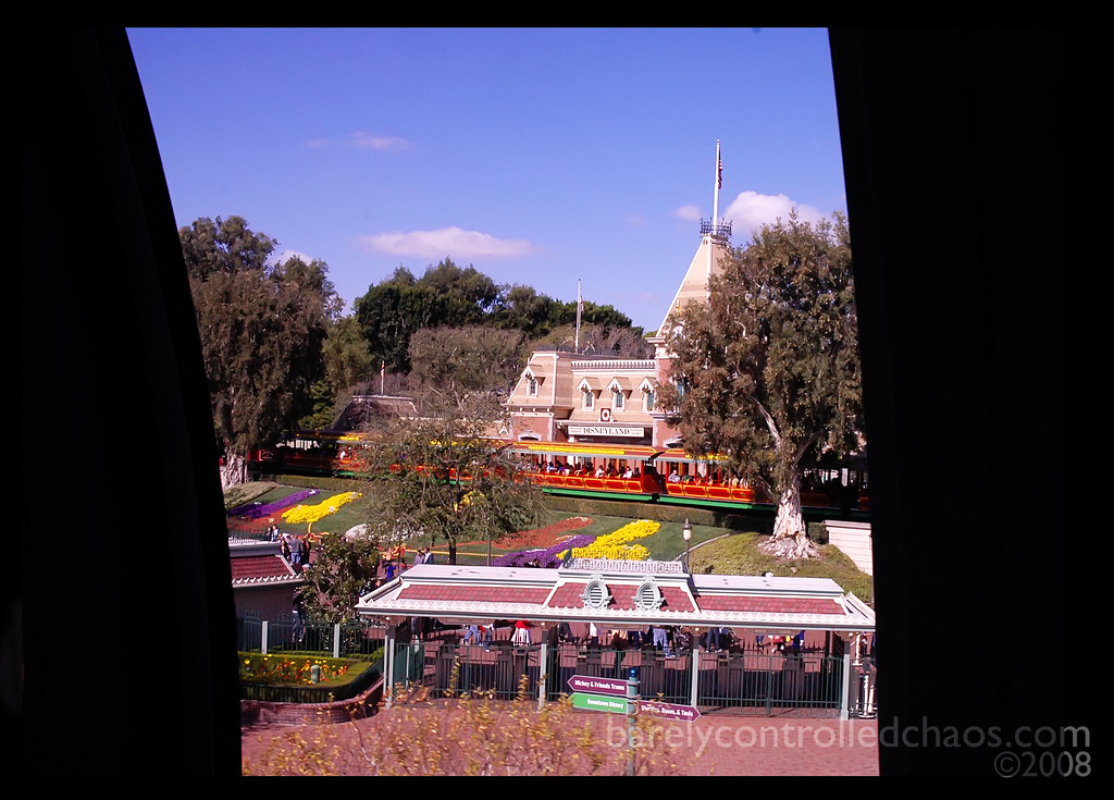 Arriving via monorail