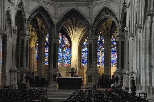 Église Saint-Séverin. Photograph by Serge Melki.