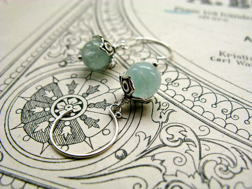 Icy Mountain earrings