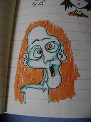 Zombies invade my journal~!
