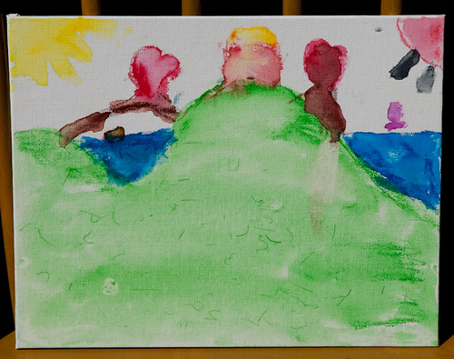 Art Party - Katie's Watercolor Painting