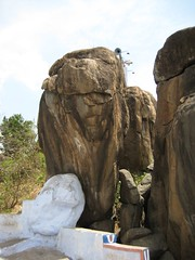 Lion faced rock (by Raju's Temple Visits)