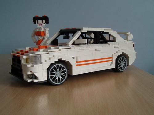 Lego Mitsubishi Evo X