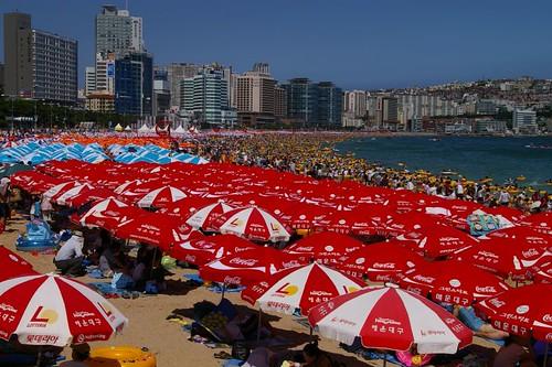 Haewoondae Beach, Busan