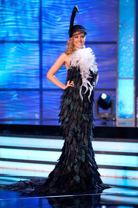 Traje Típico de Miss Nueva Zelanda