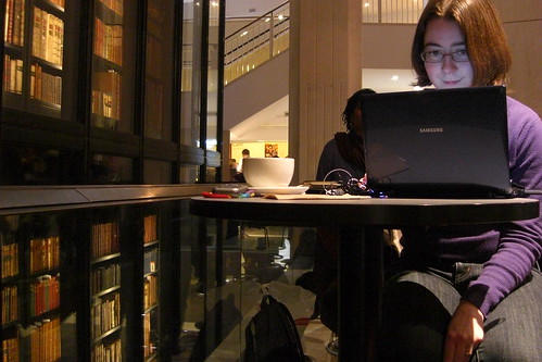 Working at the BL, 2009