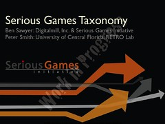 Cool Toys Momentile: Serious Games Taxonomy