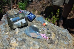 Peachtree Letterbox Geocache Contents