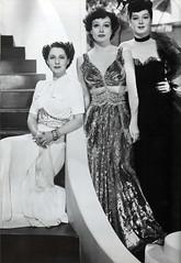 Norma Shearer, Joan Crawford and Rosalind Russ...