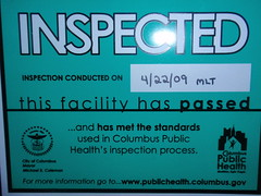 Health Department Tested, CMH Gourmand Approved