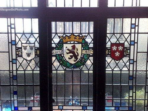 A Window at the Glasgow University Union