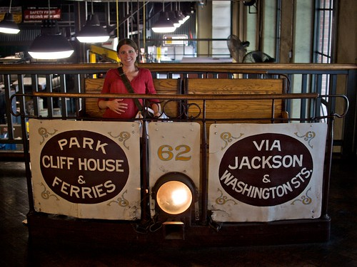 Melissa & Fig at the Cable Car Museum