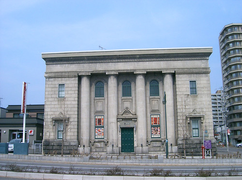 The former Otaru Branch of Yasuda Bank