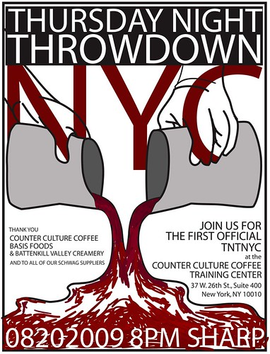 Thursday Night Throwdown NYC